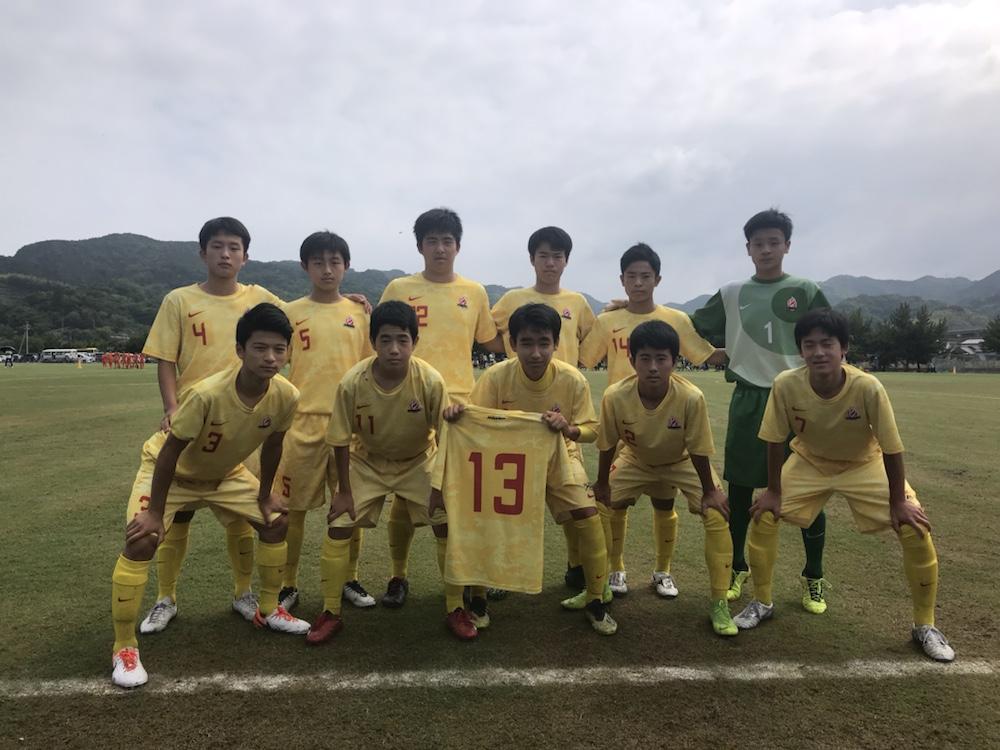 熊本県クラブユース 決勝戦